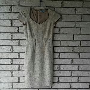 Antonio Melani Tweed Cap Sleeve Dress - Sz 0